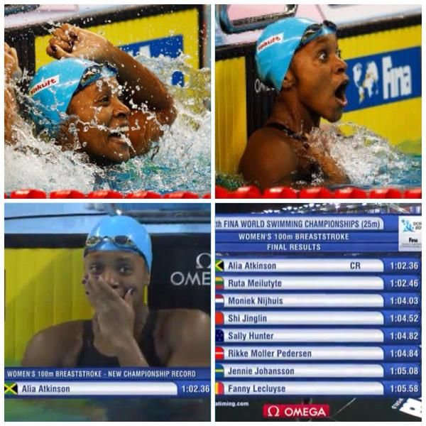 This Black Jamaican Woman Just Made Swimming History And Her Reaction Was Amazing