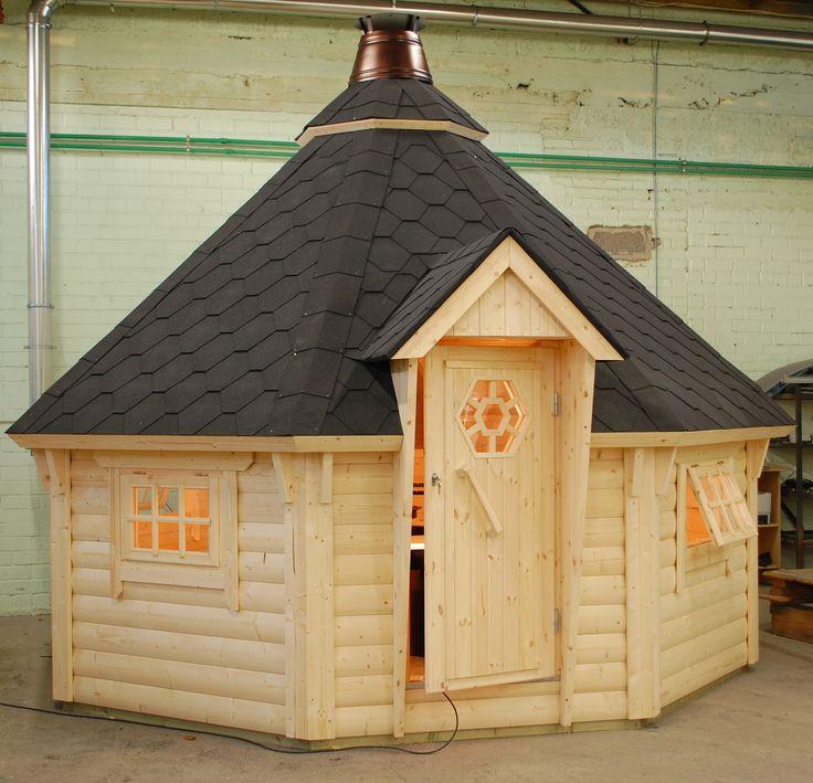 The BBQ Hut Log Cabin