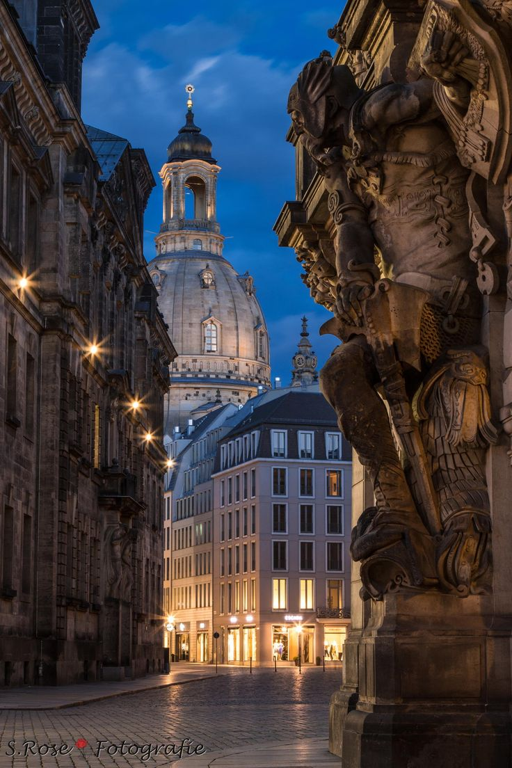 Wächter Frauenkirche - Dresden - Sachsen - Germany. One of many stunning places in Germany.