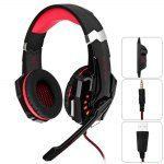 KOTION EACH G9000 3.5mm USB Vibration Gaming Headset for PS4
