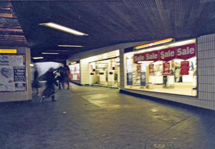 Subway from the The Hole in the Road, Castle Square to C and A Modes