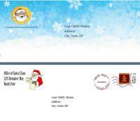 15 best christmas notes images on pinterest christmas tree printable santa letternice list certificate combo packs santa letter templates yadclub Images