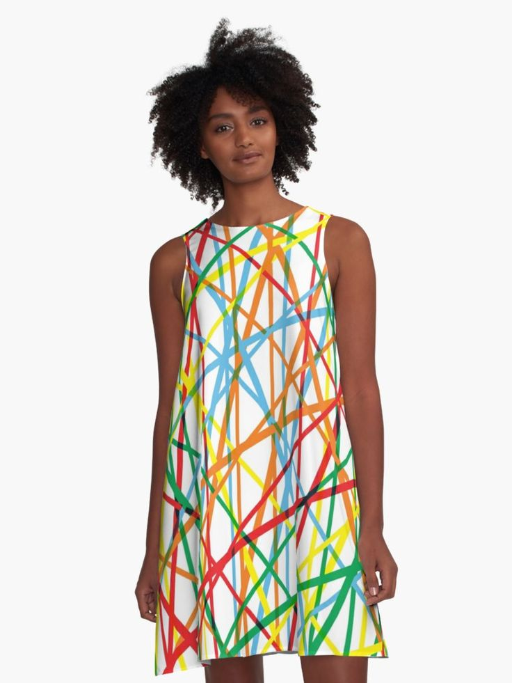 20% off all apparel. Give the gift of original stuff. Use code DAYEIGHT. Dancing Colors - colorful A- line Dress for Women by emilypigou. #colorful #abstract #alinedress #dress #style #fashion #sales #discount #save #redbubble #gifts #lines #modern #family #online #shopping #giftsforher #xmasgifts #moderndress #dance #music #christmasgifts #39 #shop   • Also buy this artwork on home decor, apparel, stickers, and more.