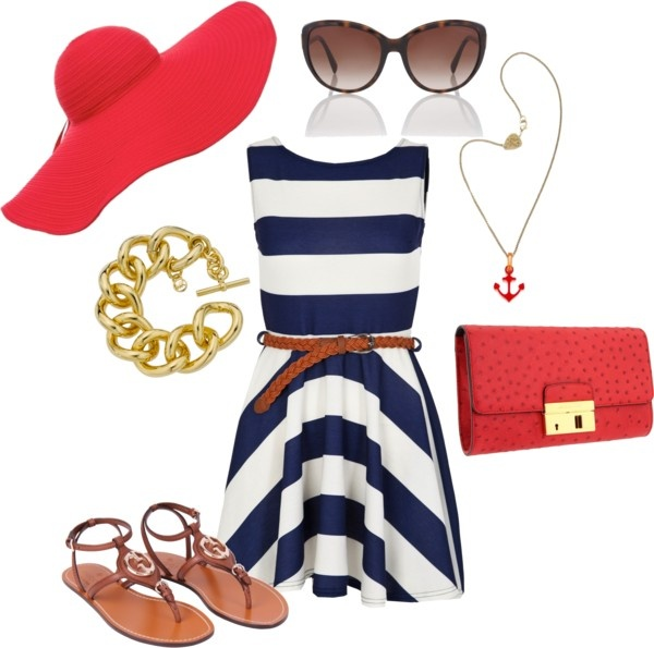 """All American Girl"" by michtach on Polyvore"