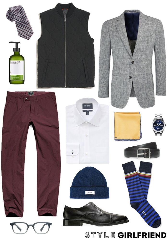 how to wear girlfriend chinos