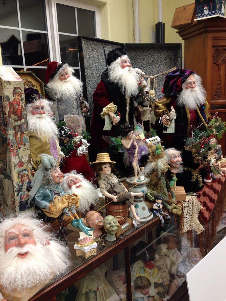 Santa's headquarters in Olympia.