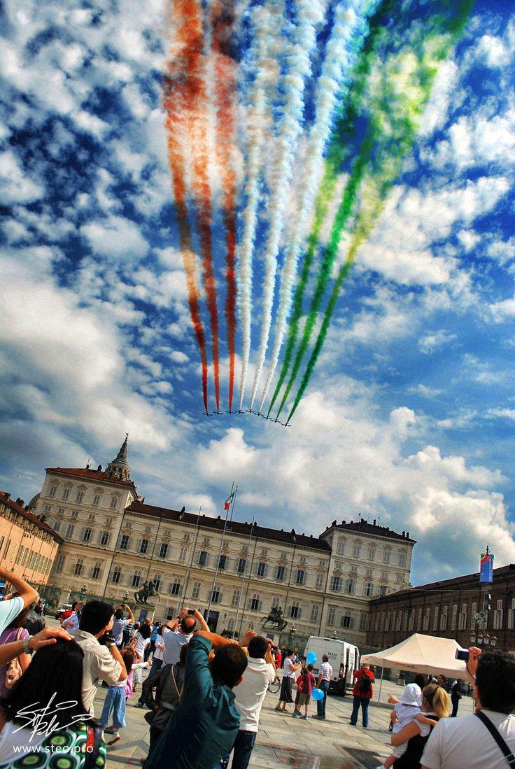 Frecce Tricolori    www.steo.pro, province of Turin , Piemonte region Italy .