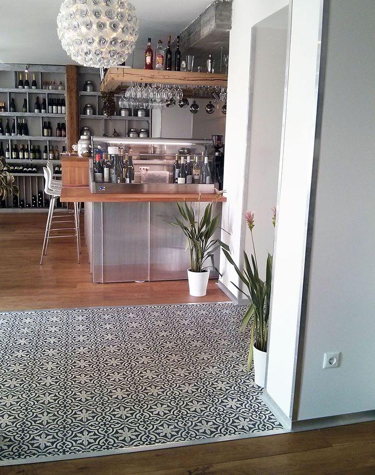 Marrakesh Cement Tile @mjam  restaurant, Szentendre, Hungary