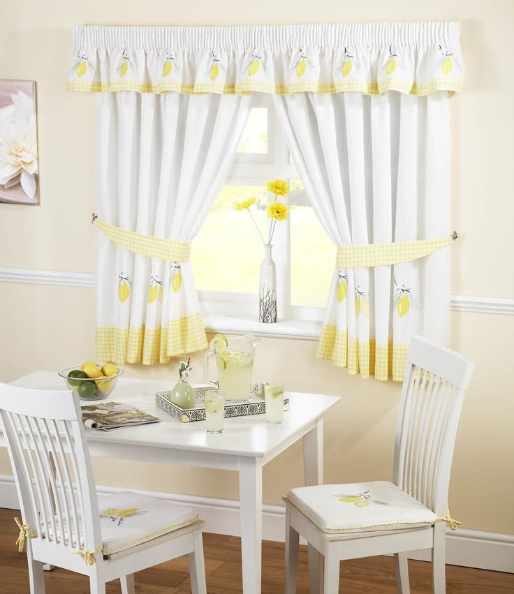 Kitchen Curtains Yellow And Gray: 17 Best Ideas About Yellow Kitchen Curtains On Pinterest