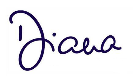 Princess Diana's Signature