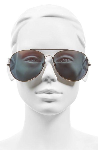 Main Image - BP. 65mm Oversize Aviator Sunglasses