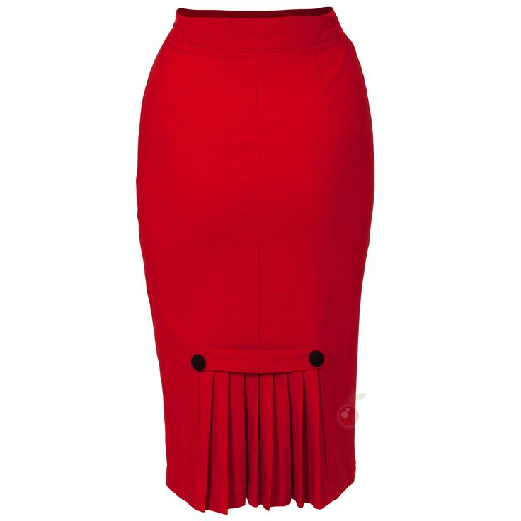 pencil skirt with kick pleat | ... or out and about in this smart stretch wiggle skirt with kick pleats