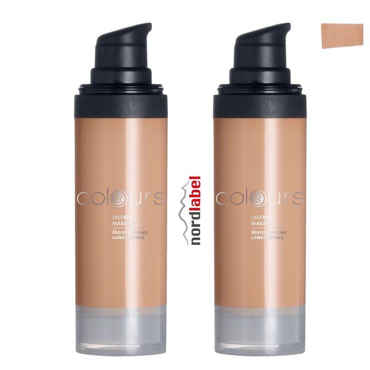 LR Colours Oilfree Make-up Light Caramel 2 x 30 ml - Doppelset!