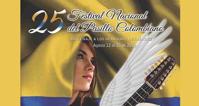 Festival Nacional del Pasillo Colombiano 2016 en Aguadas, Caldas
