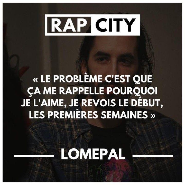 Rapcity On Instagram Lomepal Trop Beau Citations De Rap Citation Chanson Citations Rappeur