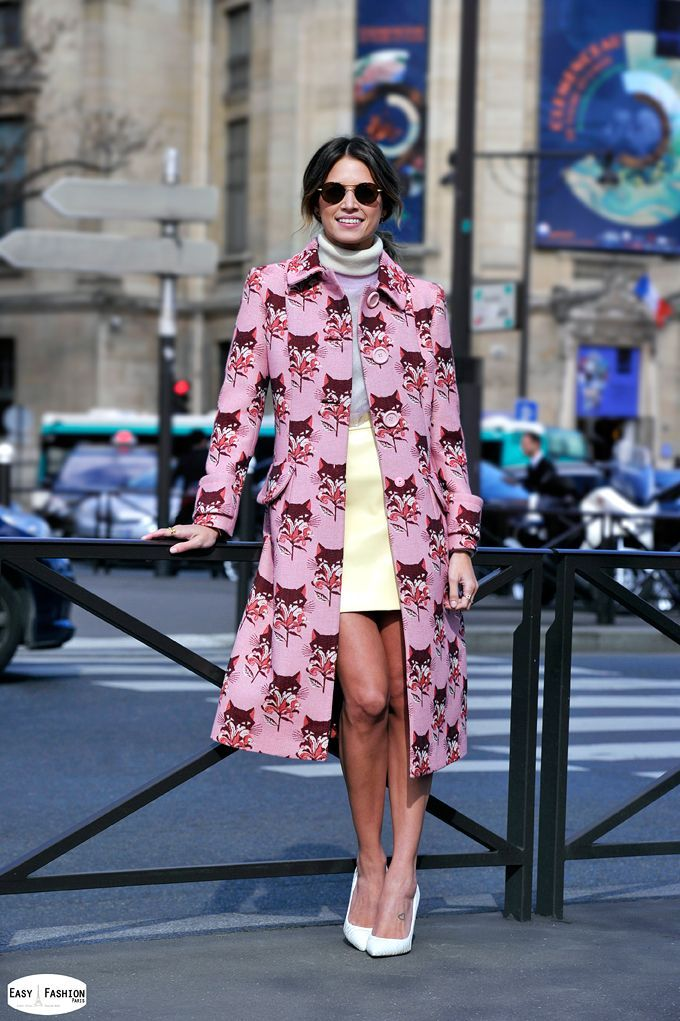 796132d4d4ab Helena Bordon - Paris Fashion Week at Miu Miu (Easy Fashion Paris ...