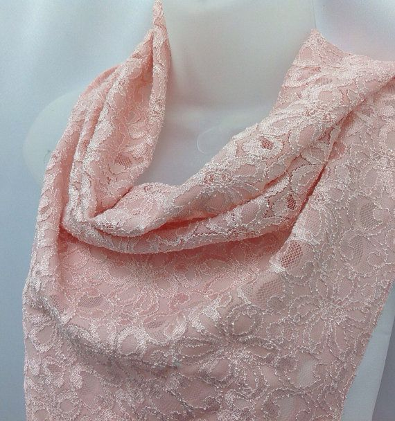 Check out Pastel Pink lace scarf, Pink bandana, Gift for Wife, Birthday girl gift, Holiday Gift, Cancer pink month, Gift for coworker on blingscarves