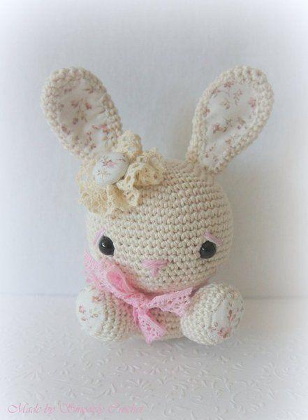 """✣ Bunny """"Shabby Chic pastell"""" ✣ von ✣  Smoozly Crochet ✣ auf DaWanda.com"""