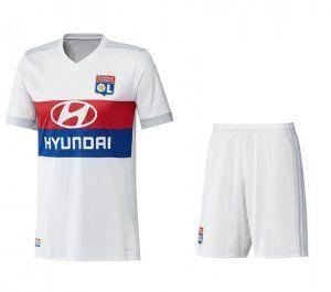 2017 Cheap Kit Olympique Lyon Home Replica Suit [AFC554]