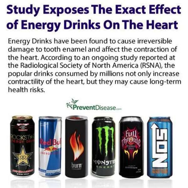 The Dangers of Energy Drinks. Who's still into this stuff? What do you do or take to energize your body for the whole day? Please SHARE this to your friends and family for them to be aware of the dangers brought by drinking unhealthy energy drinks! There may be someone who's very addicted to drinking this and is never aware of its harmful effects. So please SHARE
