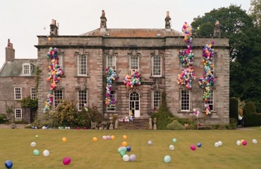 Balloons!Birthday Parties, Dreams, Timwalker, Castles, English Manor, Tim Walker, Manor House, Balloons, Mansions
