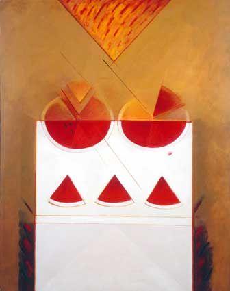 Homenaje al triángulo . / Roser Bru .