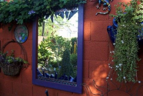Ideas to cover a cinder block wall garden and outdoors - How to cover exterior cinder block walls ...