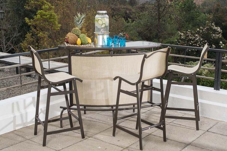 Un bar en tu terraza claro que si airelibre terrazas for Easy terrazas chile