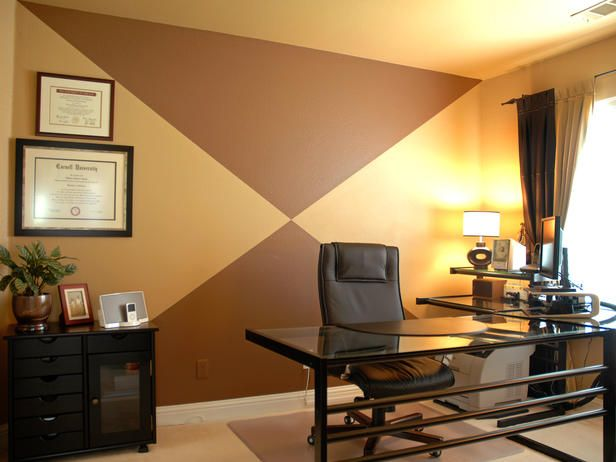 - Best of Designers' Portfolio: Home Offices on HGTV - Landon's room - different colors of course, but I like the idea.