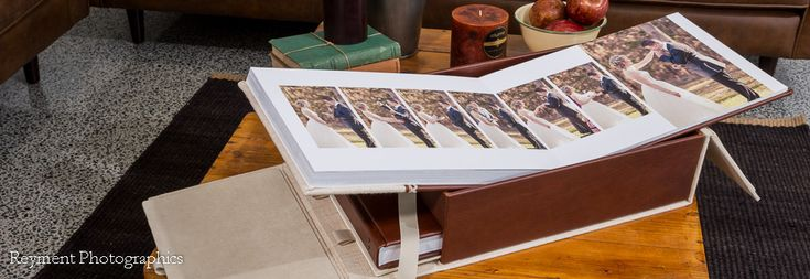 Albums - Fine Handcrafted Portrait & Wedding Albums by Photo Mounts &…