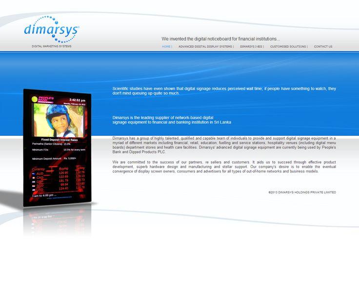 Dimarsys Website
