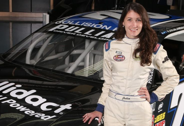 Julia Landauer in NASCAR K&N Pro Series