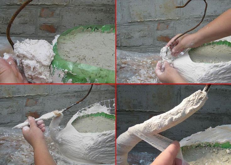 Фото лебедь из пластиковых бутылок своими руками мастер класс