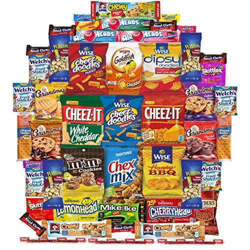 Snacks Care Package Gift Assortment (50 Count) -- Learn more by visiting the image link. (This is an affiliate link) #HealthySnacksForToddlers