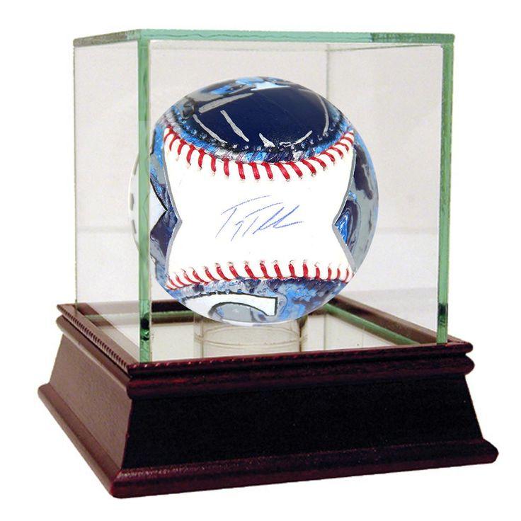 Troy Tulowitzki Signed Painted MLB Baseball (MLB Auth)