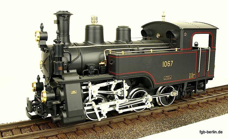 Model Train Racks : Ballenberg zahnrad dampflok rack steam locomotive
