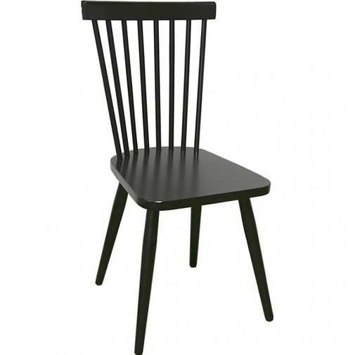pinnstol ek ~ cleo matstol svartlackad björk i gruppen möbler  stolar