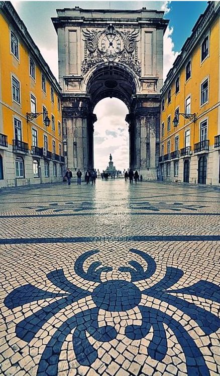 Rua Augusta, Lisbon, Portugal , from Iryna