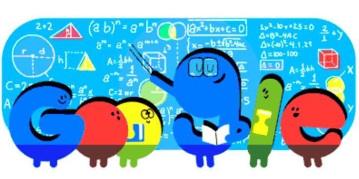 El homenaje de Google a los docentes argentinos.: Los maestros conmemoran un aniversario más de la muerte de Domingo Faustino Sarmiento, y…