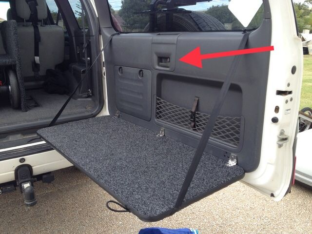 Excellent Full Length Table Lexus Gx470 Toyota Land Cruiser Pabps2019 Chair Design Images Pabps2019Com