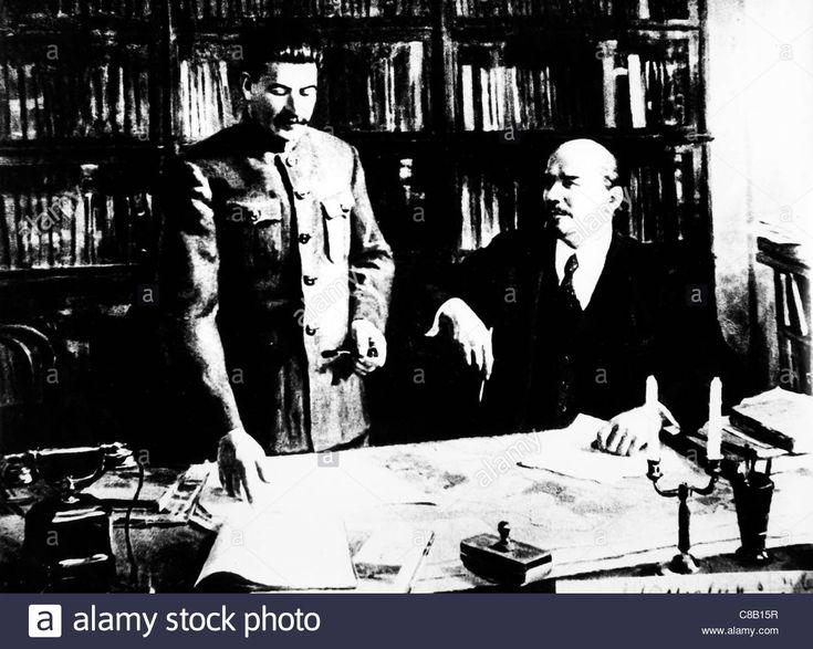 "Vladimir Ilyich Ulyanov ""Lenin"" with Joseph Stalin"