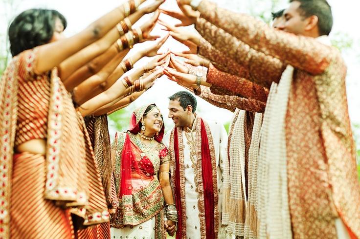 indian wedding - cool photo idea