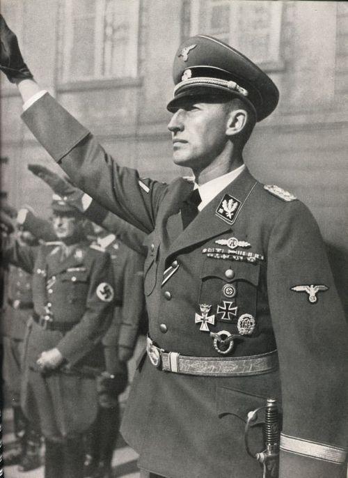 SS-Obergruppenführer Reichsprotektor Böhmen und Mähren Reinhard Heydrich