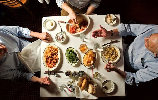 Italiani tradizionalisti a tavola