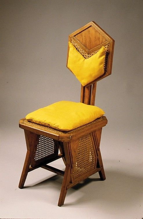 Side Chair. Frank Lloyd Wright, 1922. The Metropolitan Museum of Art