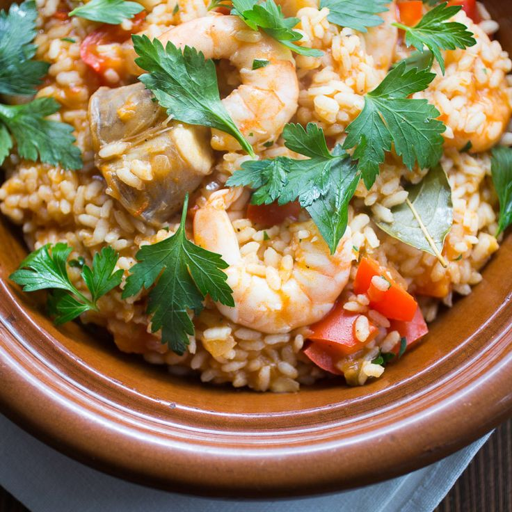 Arroz de tamboril – Rice with monkfish
