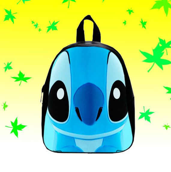 Cute Stitch  Backpack/SchoolBags for Kids. by FACIALBAG on Etsy