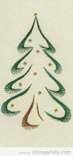 Christmas Tree | String Art DIY | Learn to make your own String Art project with us