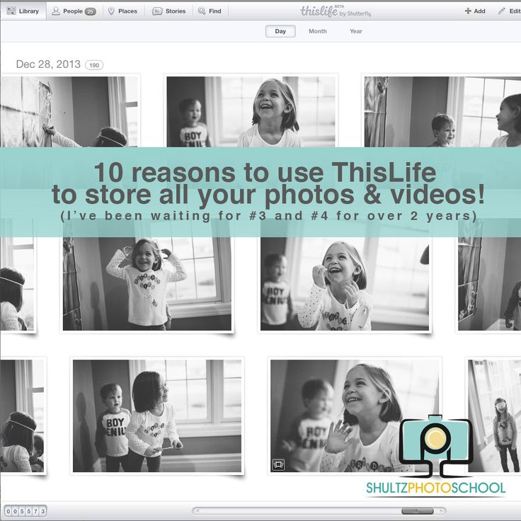 10 Reasons to Use ThisLife For All Your Photos
