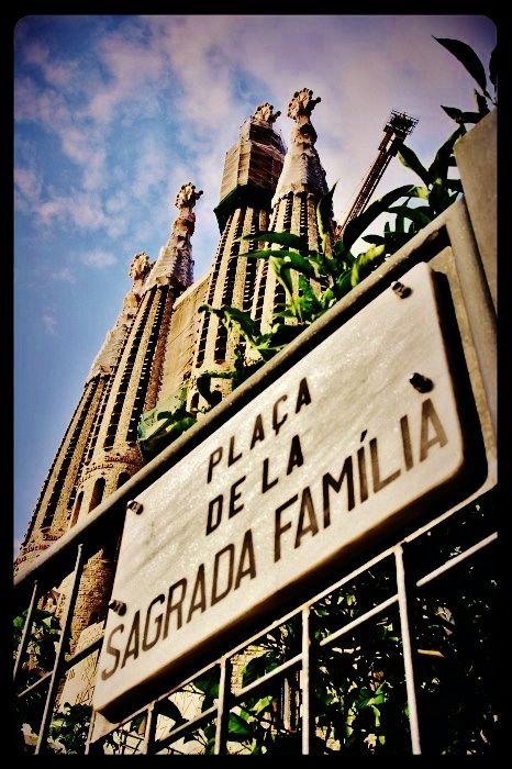 La Sagrada familia / Barcelone 2013